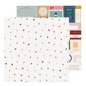 Liebe Papier - Marshmallow - Snowflake - Crate Paper