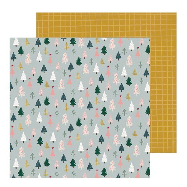 Crate Paper - Snowflake - Spruce
