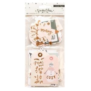 Liebe Papier - Crate Paper - Snowflake - Ephemera