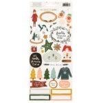 Liebe Papier - Crate Paper - Snowflake - Sticker