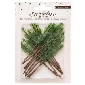 Liebe Papier - Snowflake  - Pine Branches
