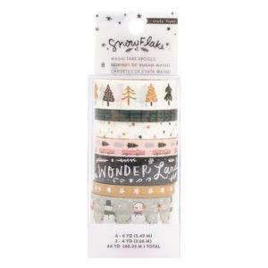 Liebe Papier - Snowflake - Washi Tape Copper Foil