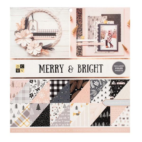 Liebe Papier - Merry e Bright - Paper Pad