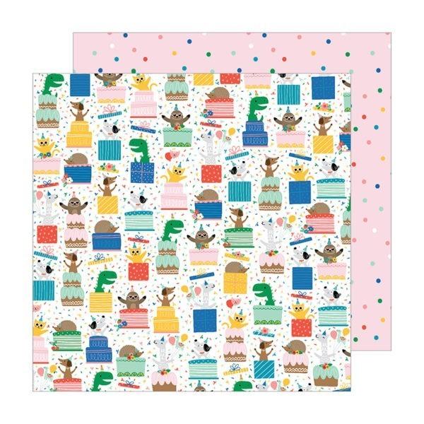 Liebe Papier - Pebbles - Happy Cake Day - Surprise