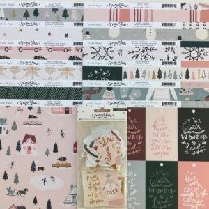 Liebe Papier - Kit Crate Paper - Snowflake