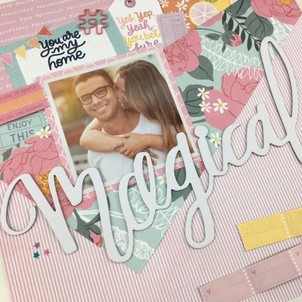 Liebe Papier - kit materias Memory Box Setembro 2019