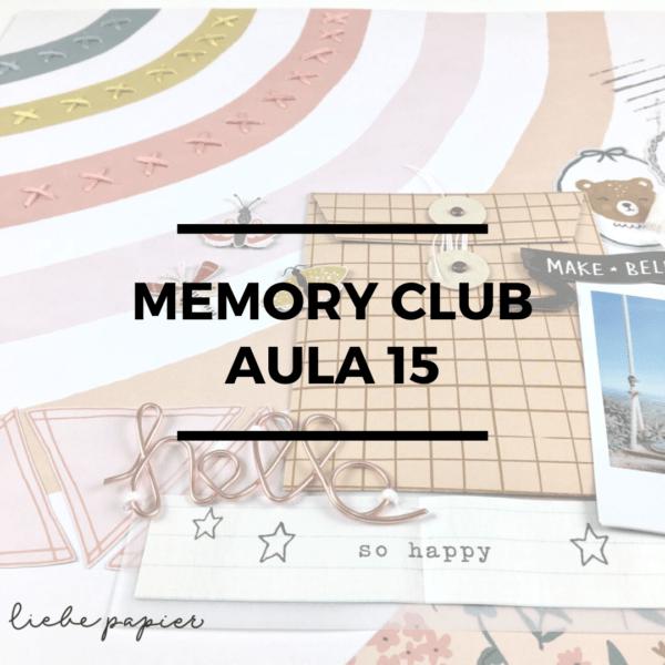 Liebe Papier - Curso Anual - Memory Club 2020