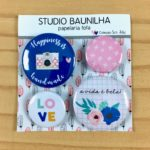 Liebe Papier - Studio Baunilha - Ser Feliz - Bottons