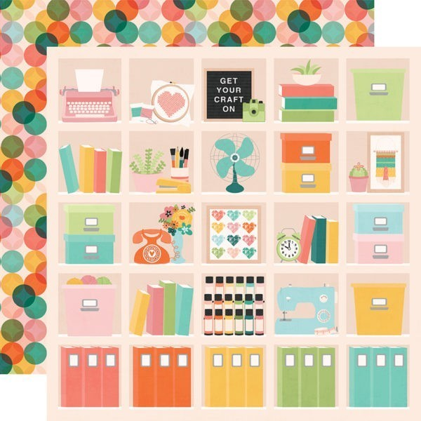Liebe Papier - Simple Stories - Hey Crafty Girl - Happy Place