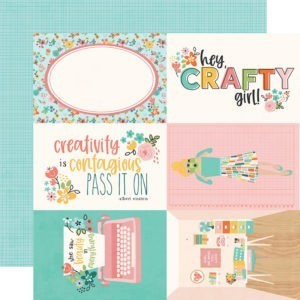 Liebe Papier - Simple Stories - Hey Crafty Girl - 4x6 Elements