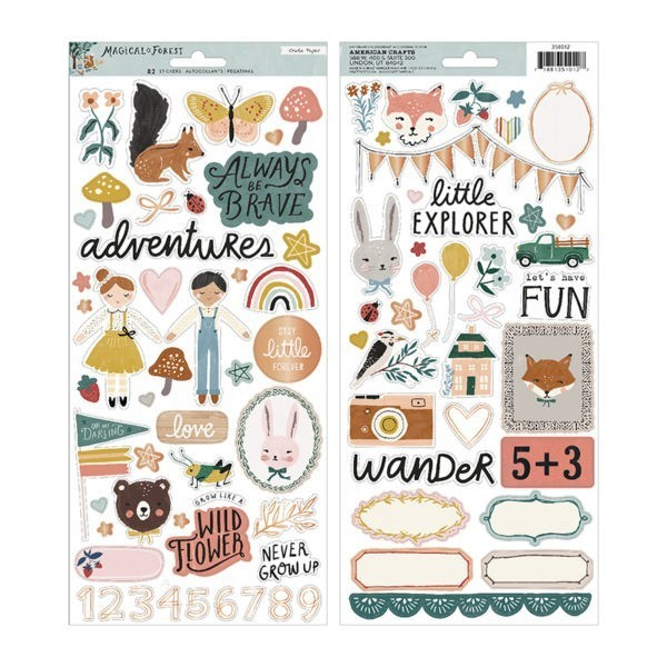 Liebe Papier - Crate Paper - Magical Forest - Sticker