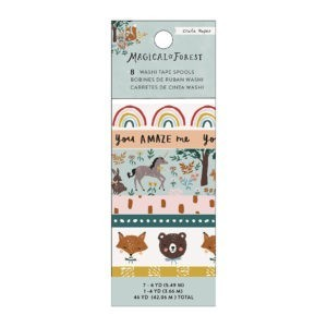 Liebe Papier - Crate Paper - Magical Forest - Washi Tape