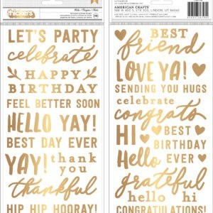Liebe Papier - Thickers - Hey Hello! - Jen Hadfield