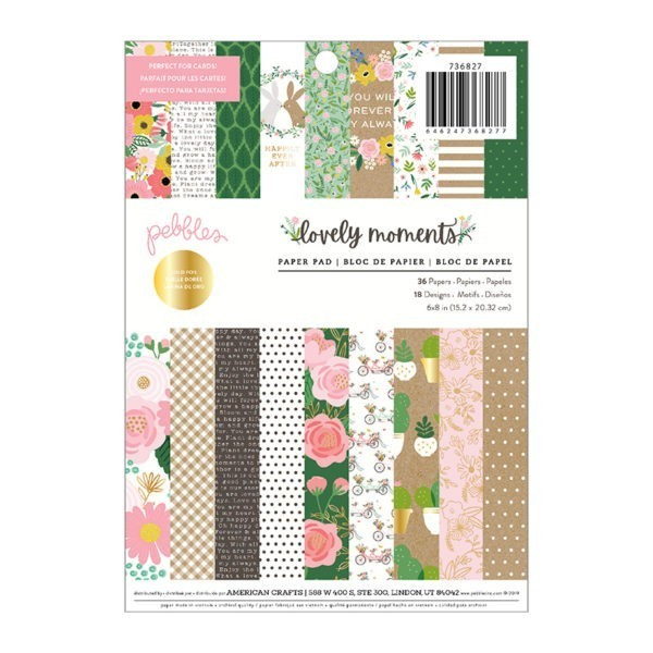 Liebe Papier - Pebbles - Lovely Moments - Paper Pad