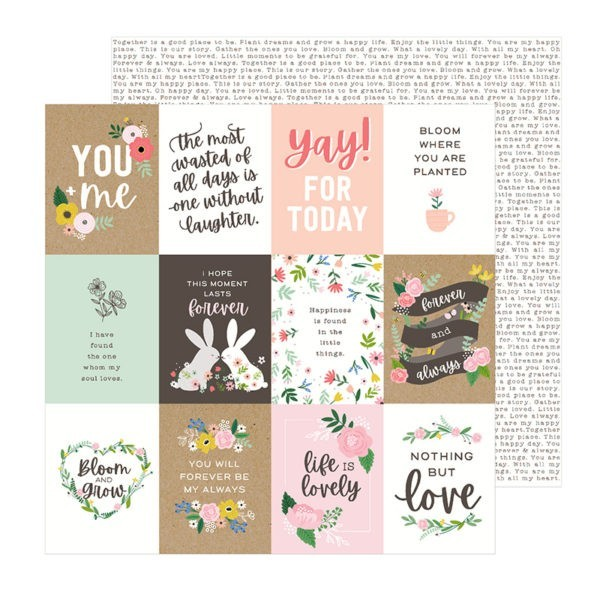 Liebe Papier - Pebbles - Lovely Moments - Lovely Quotes