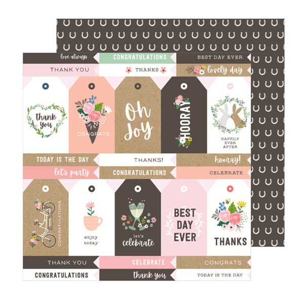Liebe Papier - Pebbles - Lovely Moments - Lovely Tags