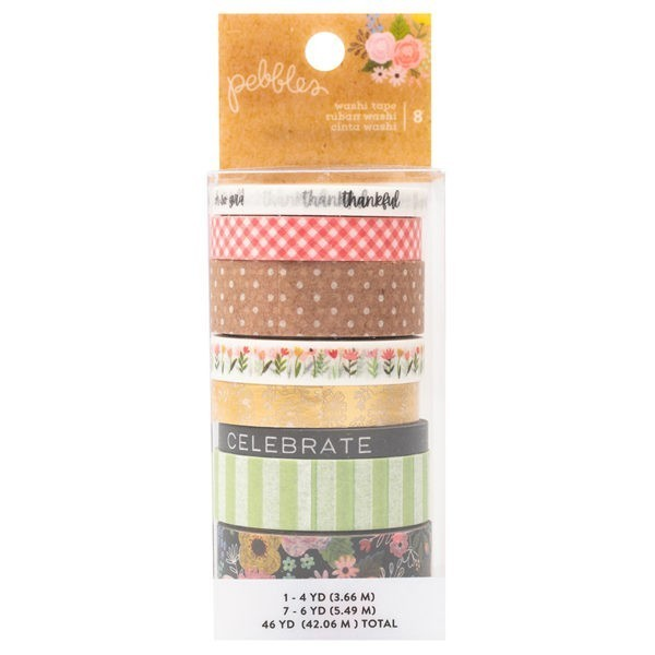 Pebbles - Lovely Moments -  Washi Tape