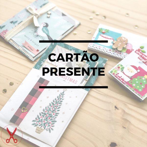 Cartão Presente Scrapbook