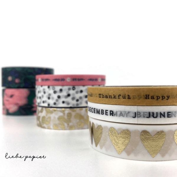 Liebe Papier - Washi Tape - Day-to-day