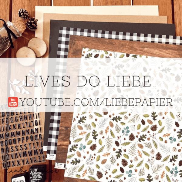 Lives e Mini aulas - Liebe Papier