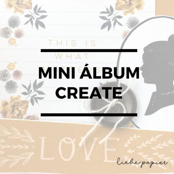 Mini Álbum Create - Curso Online