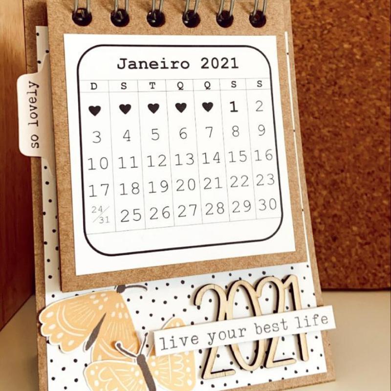 Calendário digital 2021