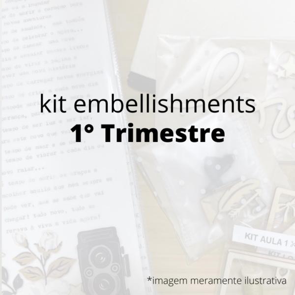 Kit de Embellishments - 1 Trimestre